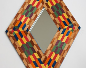 Colorful Diamond Mirror