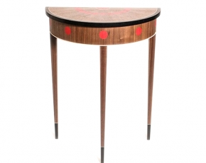Dot Demilune Table