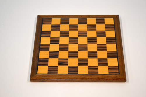 Ebony and Yellow Chessboard